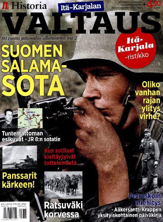 Iltalehti Teema Historia Itä-Karjalan valtaus 2021