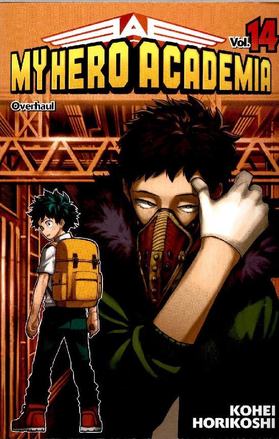 My Hero Academia (Sarjakuvakirja) Osa: 14/18+ 2021