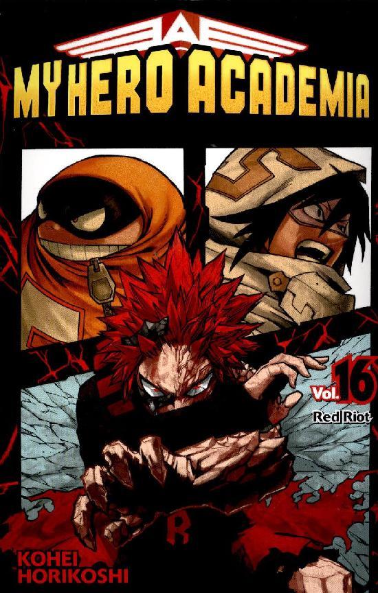 My Hero Academia (Sarjakuvakirja) Osa: 16/28+ 2021