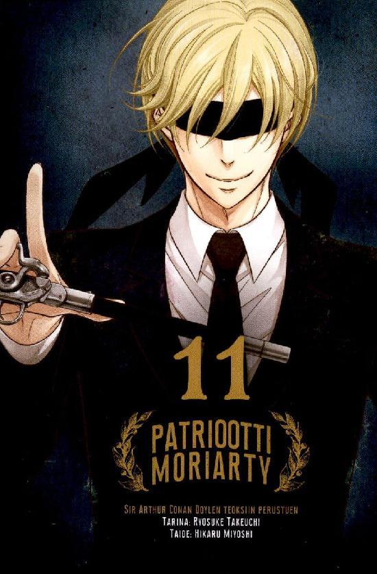 Patriootti Moriarty (Sarjakuvakirja) Osa: 11/12+ 2021
