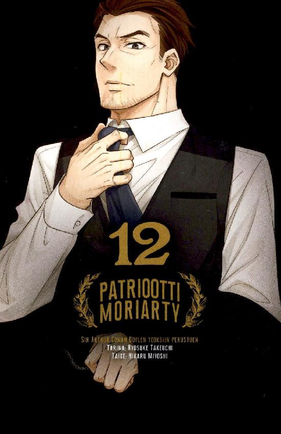 Patriootti Moriarty (Sarjakuvakirja) Osa: 12/13+ 2021
