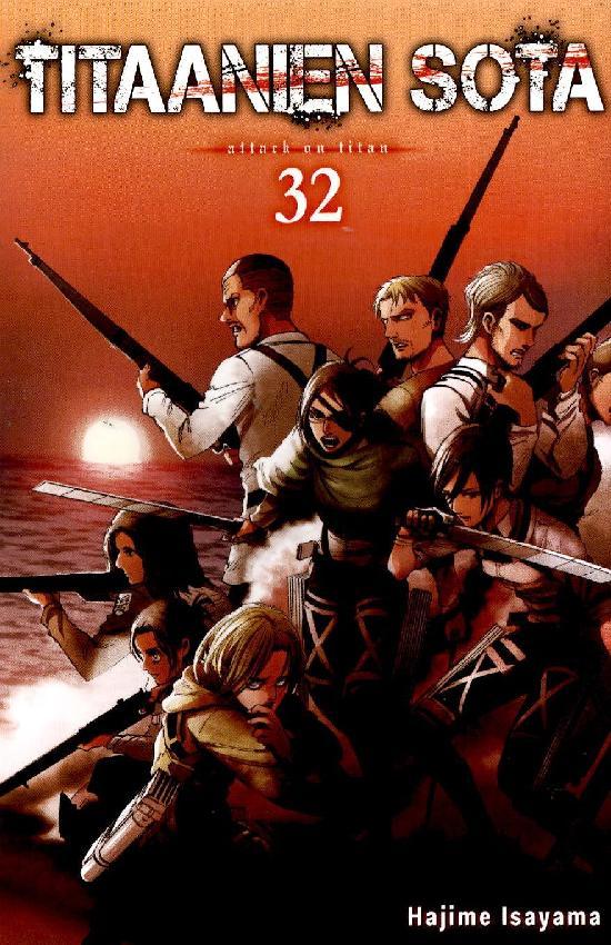 Titaanien sota -sarjakuvakirja Osa: 32/34 2021