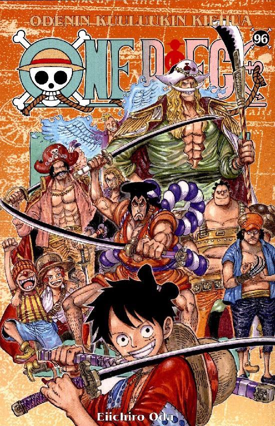 One Piece -sarjakuvakirja 96 2021 Odenin kuuluukin kiehua