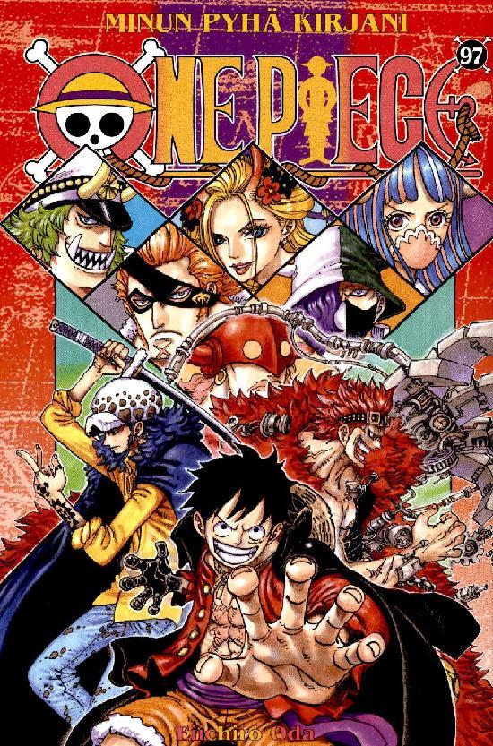 One Piece -sarjakuvakirja 97 2021 Minun pyhä kirjani