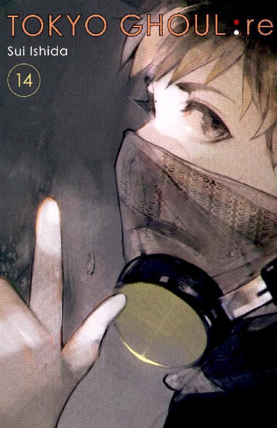 Tokyo Ghoul:re -sarjakuvakirja Osa: 14/16 2021