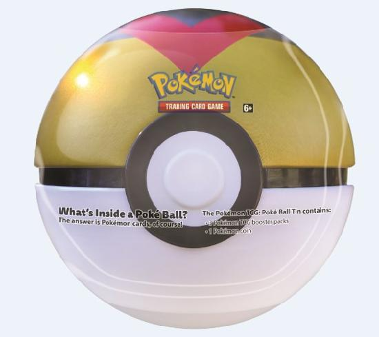 Pokemon Poke Ball Tin -pallo