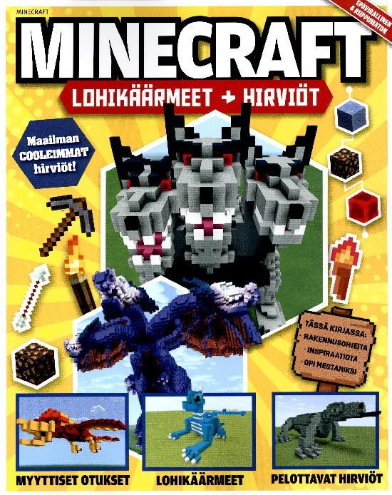 Minecraft Peliopas Lohikäärmeet + hirviöt 2021