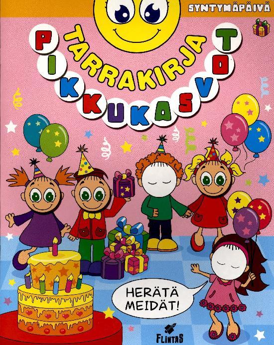 Pikku Kasvot Tarrakirja 1 2021 Syntymäpäivä