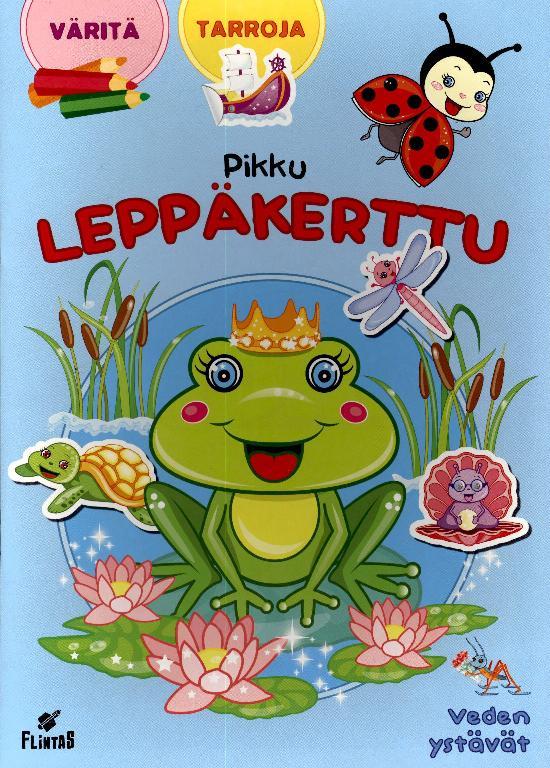 Pikku Leppäkerttu Tarra-värityskirja 1 2021 Veden ystävät
