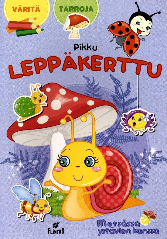 Pikku Leppäkerttu Tarra-värityskirja 2 2021 Metsässä ystävien kanssa