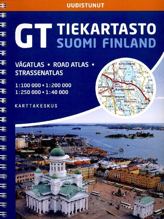GT Tiekartasto Suomi 2101