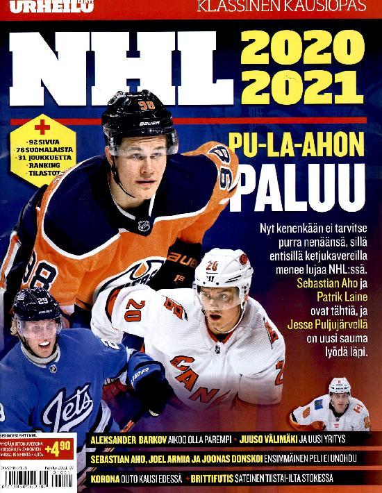 IS Erikoislehti NHL 2020-2021