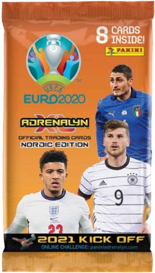 Euro 2020 Adrenalyn XL -keräilykortit 2021 Kick Off