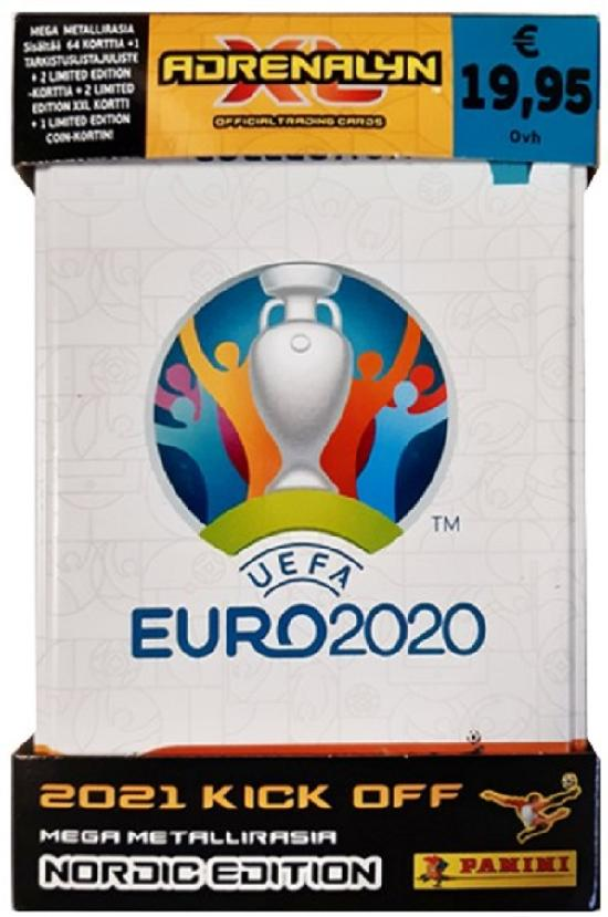 Euro 2020 Adrenalyn XL -Mega metallirasia 2021 Kick Off