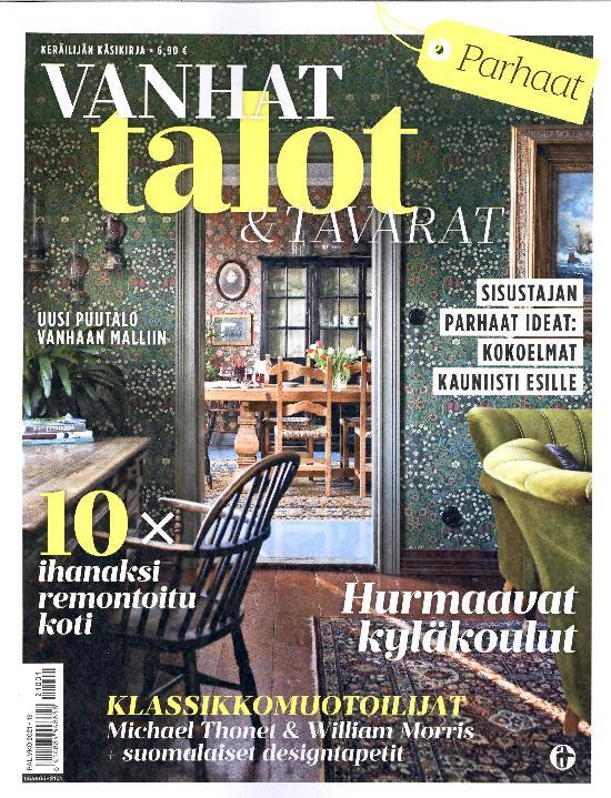 Vanhat Talot & Tavarat Keräilijän käsikirja 1/2021