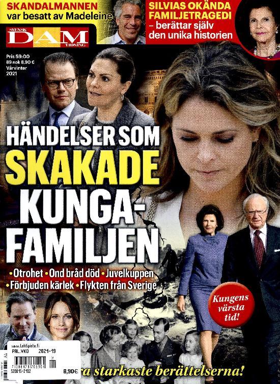 Svensk Damtidning Special Händelser som skakade kungahusen Vårvinter 2021