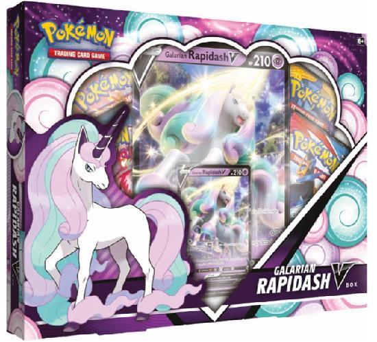 Pokemon V Box Galarian Rapidash V