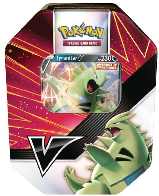 Pokemon V Strikers Tyranitar/Empoleon -Tin -rasia