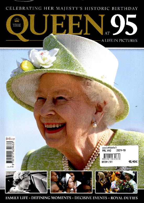 Royal Special Queen Celebrating 95 years 2021