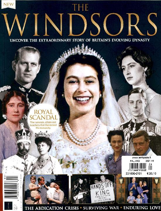 All about History Bookazine Book of the Windsors