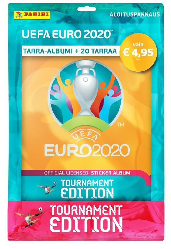 Euro 2020 Tournament Edition -aloituspakkaus (tarrat) 2021