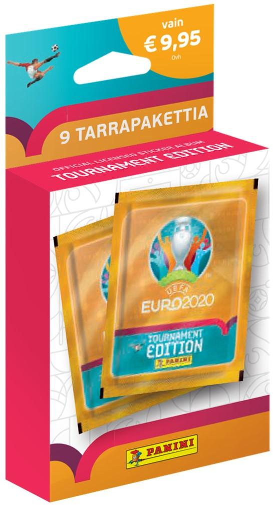 Euro 2020 Tournament Edition -9 tarrapaketin laatikko 1/2021