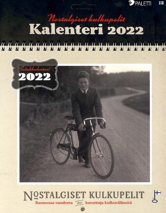Nostalgiset Kulkupelit-kalenteri 2022