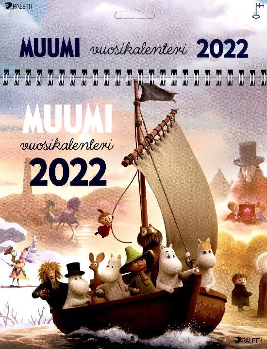 Muumi Gutsy-kalenteri 2022