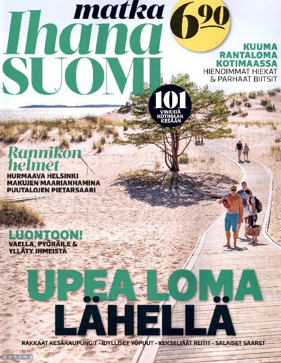 Ihana Suomi 1/2021 Upea loma lähellä