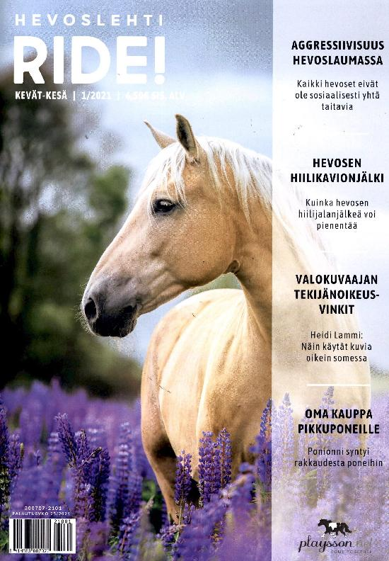 Hevoslehti RIDE! KEVÄT - KESÄ | 1/2021