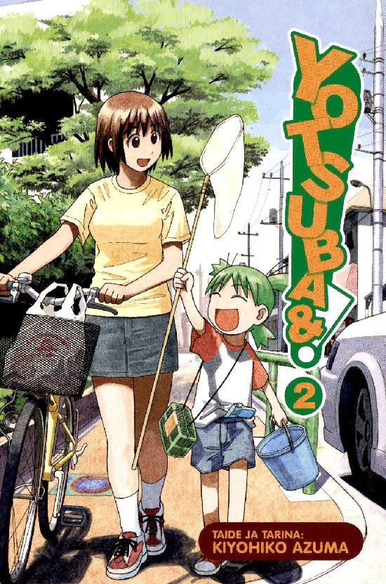 Yotsuba& -sarjakuvakirja Osa: 2/15+ 2021
