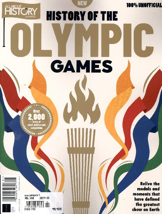 All about History Bookazine History of the Olympic Games