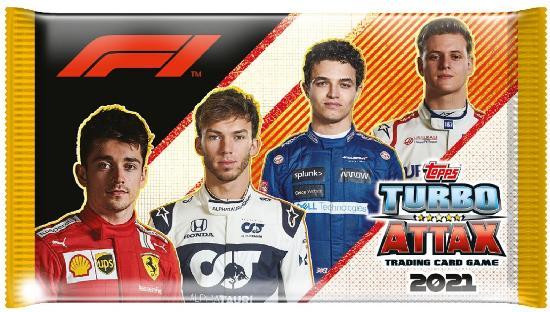 F1 Turbo Attax -keräilykortit