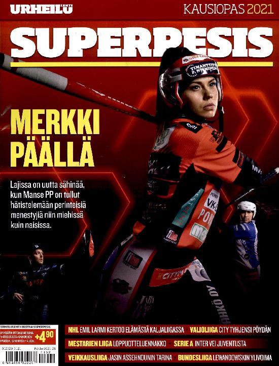 Urheilulehti Ekstra Superpesis KAUSIOPAS 2021
