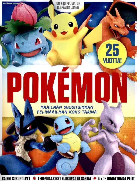 Pokemon Go Peliopas Pokemon - 25 vuotta! 2021