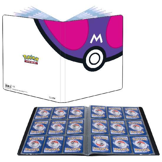 Pokemon 9-pocket Binder -keräilykansio Master Ball