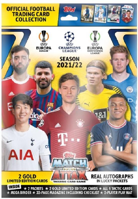 Champions League Match Attax aloituspakkaus (kortit) 2021