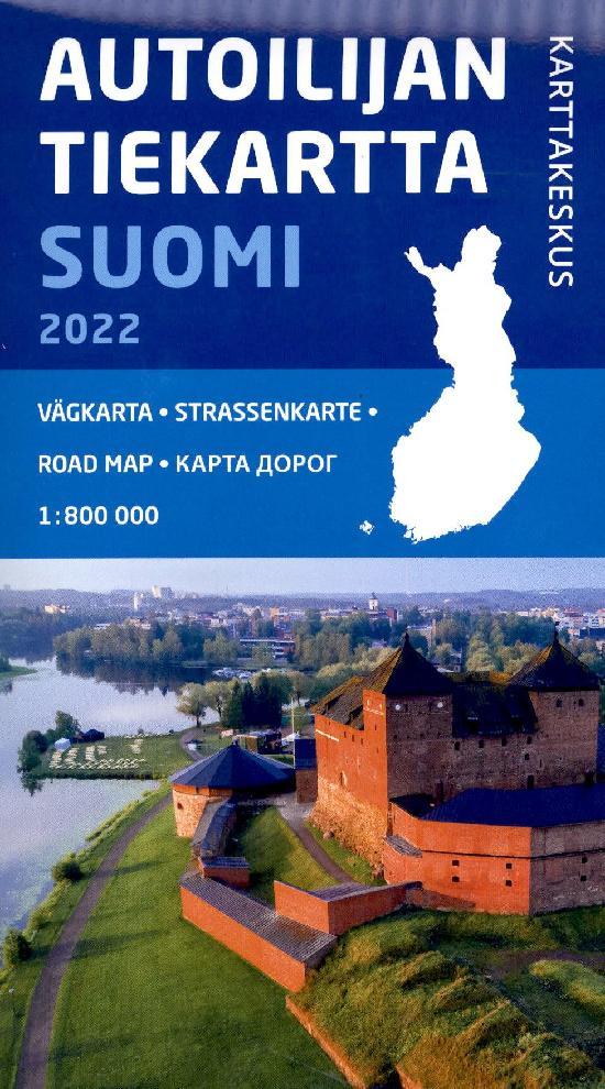 Autoilijan Tiekartta Suomi 2022