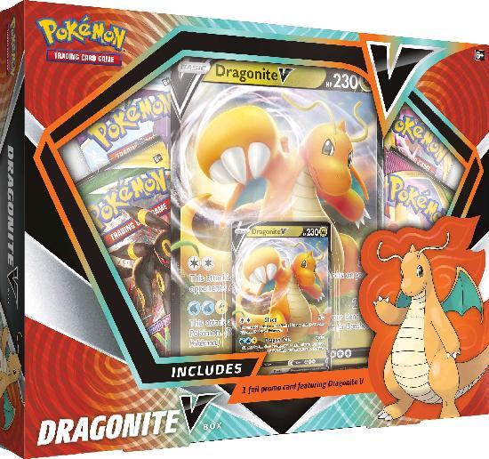 Pokemon V Box Dragonite V