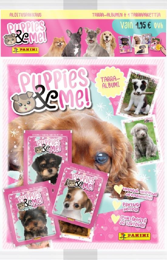 Puppies & Me! -aloituspakkaus (tarrat) 2021