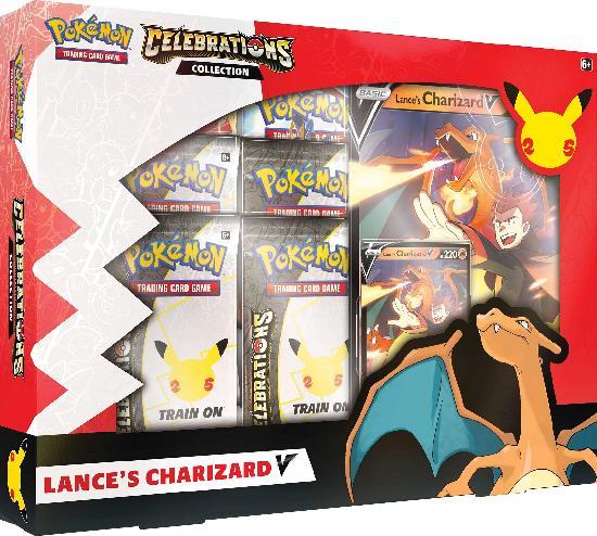 Pokemon Celebrations Collection Lance's Charizard V/Dark Sylveon V