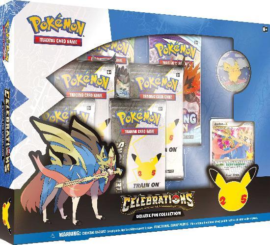 Pokemon Celebration Deluxe Pin Collection