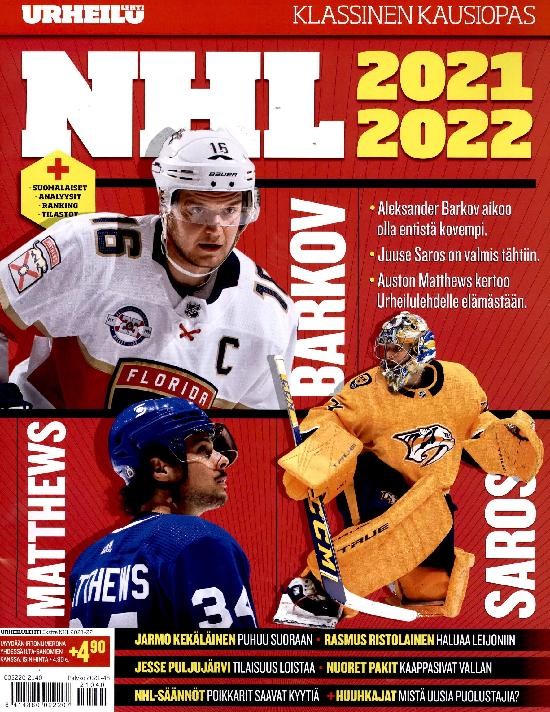 Urheilulehti Ekstra NHL 2021-22