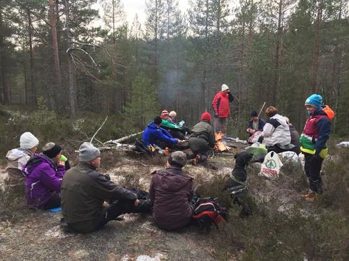 Årets siste Høstruslær gikk fra Andersbonn 25/11
