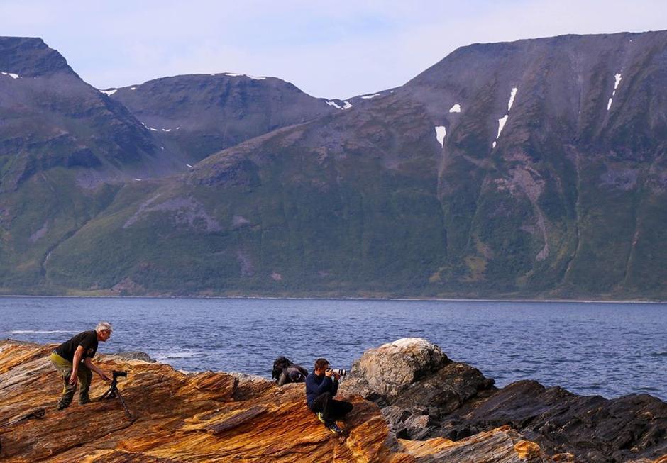 Fra fjorårets fotokurs på Arnøy