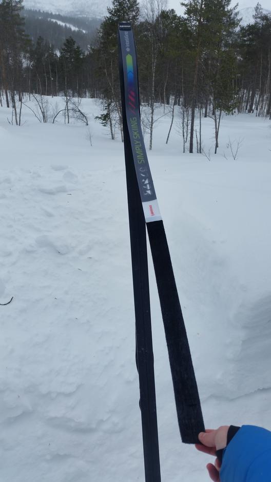 Enkelt å ta skifellen av og på!