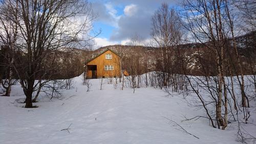 Ny BOT-hytte ved Tussvatnet!