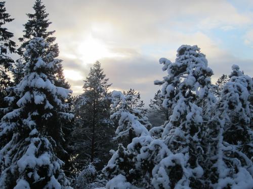 Nordhordland i vinterdrakt