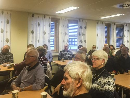 Mange deltok på informasjonsmøte