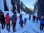 Skitur fra Brekkom til Storfallet og på isen i Tromsa tilbake til Fåvang